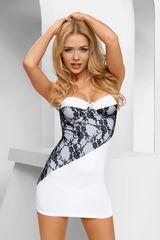Эффектное платье Casabella с кружевной вставкой