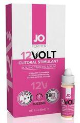 Возбуждающая сыворотка мощного действия JO Volt 12V - 5 мл.