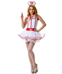Костюм медсестры с пышной юбкой