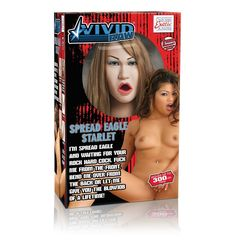 Реалистичная секс-кукла Vivid Raw Spread Eagle Starlet