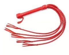Пятихвостная красная плеть - 70 см.