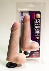 Насадка на трусики Harness размером Medium-plus Size - 17,5 см.