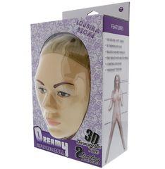 Надувная секс-кукла с реалистичным личиком LOUSINA STONE DOLL