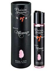 Массажное масло с ароматом сладкой ваты Huile de Massage Gourmande Barbe a Papa - 59 мл.