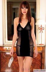 Платье Dernier Tango с сеткой на боках и спине