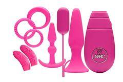 Розовый вибронабор FLIRTY KIT SET