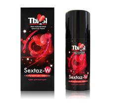 Крем Sextaz-W с возбуждающим эффектом для женщин - 20 гр.