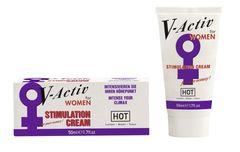 Стимулирующий крем для женщин V-activ - 50 мл.