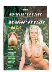 Эротическая кукла с тремя тоннелями любви MAGIC FLESH WILD CAT LOVE DOLL