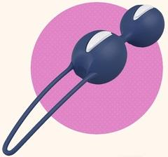 Синие вагинальные шарики Smartballs Duo