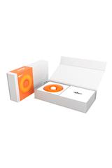 Оранжевый многофункциональный вибратор DONUT ORANGE
