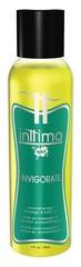 Масло для массажа Inttimo Invigorate с ароматом эвкалипта и лимона - 120 мл.