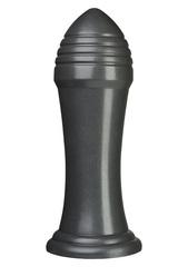Гигантский анальный стимулятор Blockbuster Gun Metal - 30,5 см.