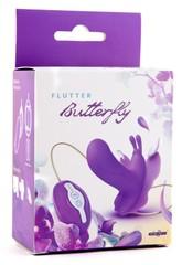 Поясная вибробабочка Butterfly с 7 режимами вибрации и пультом