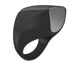Черное перезаряжаемое эрекционное кольцо