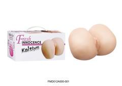Реалистичная вагина с попкой  Кейтлин