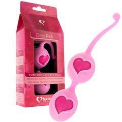 Розовые вагинальные шарики Desi Love Balls