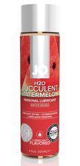 Лубрикант на водной основе с ароматом арбуза JO Flavored Watermelon - 120 мл.