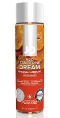 Лубрикант на водной основе с ароматом мандарина JO Flavored Tangerine Dream - 120 мл.