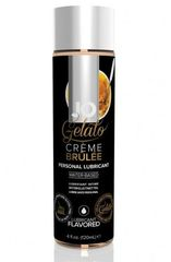 Лубрикант с ароматом крем-брюле JO GELATO CREME BRULEE - 120 мл.