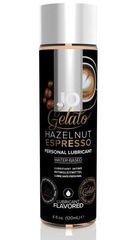 Лубрикант с ароматом орехового эспрессо JO GELATO HAZELNUT ESPRESSO - 120 мл.