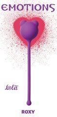 Фиолетовый вагинальный шарик Emotions Roxy