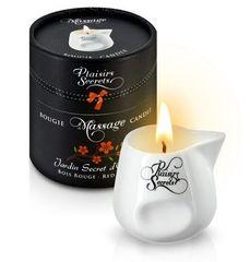 Массажная свеча с ароматом красного дерева Jardin Secret D orient Bois Roug - 80 мл.